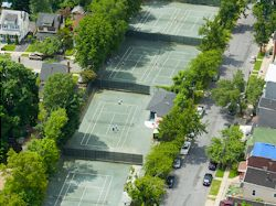 Freeman Tennis Courts